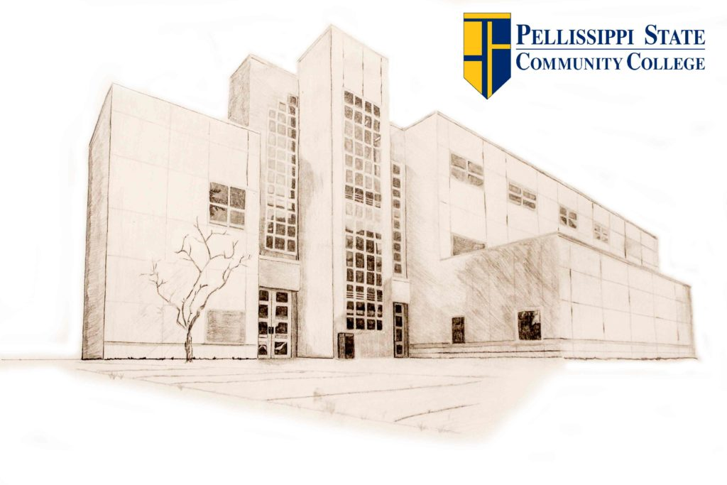 Pellissippi State Technical College drawing (McWherter building)