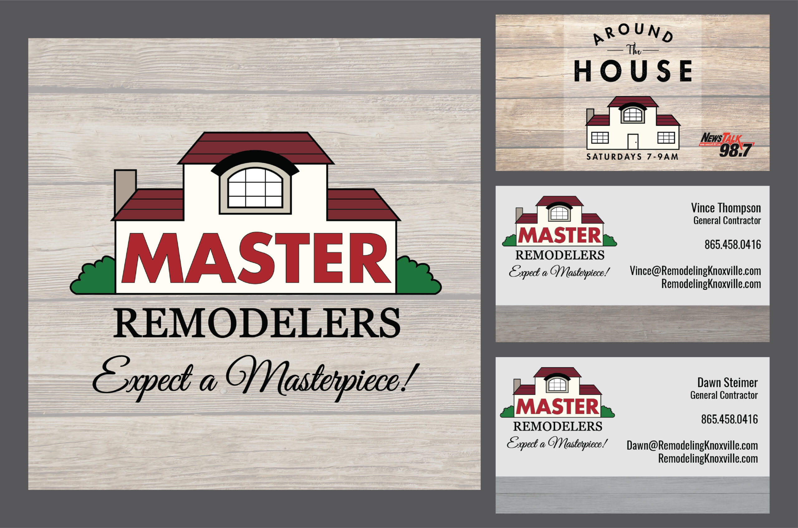 Master Remodelers_Stickers and Business Cards
