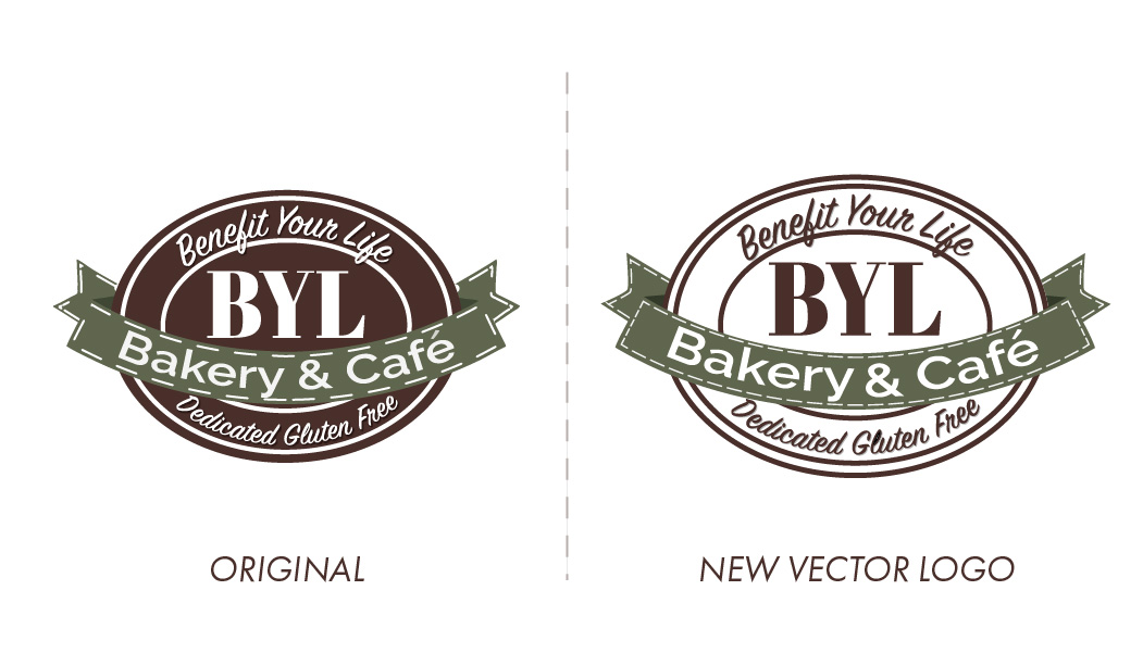 Benefit Your Life Bakery Vector Logo