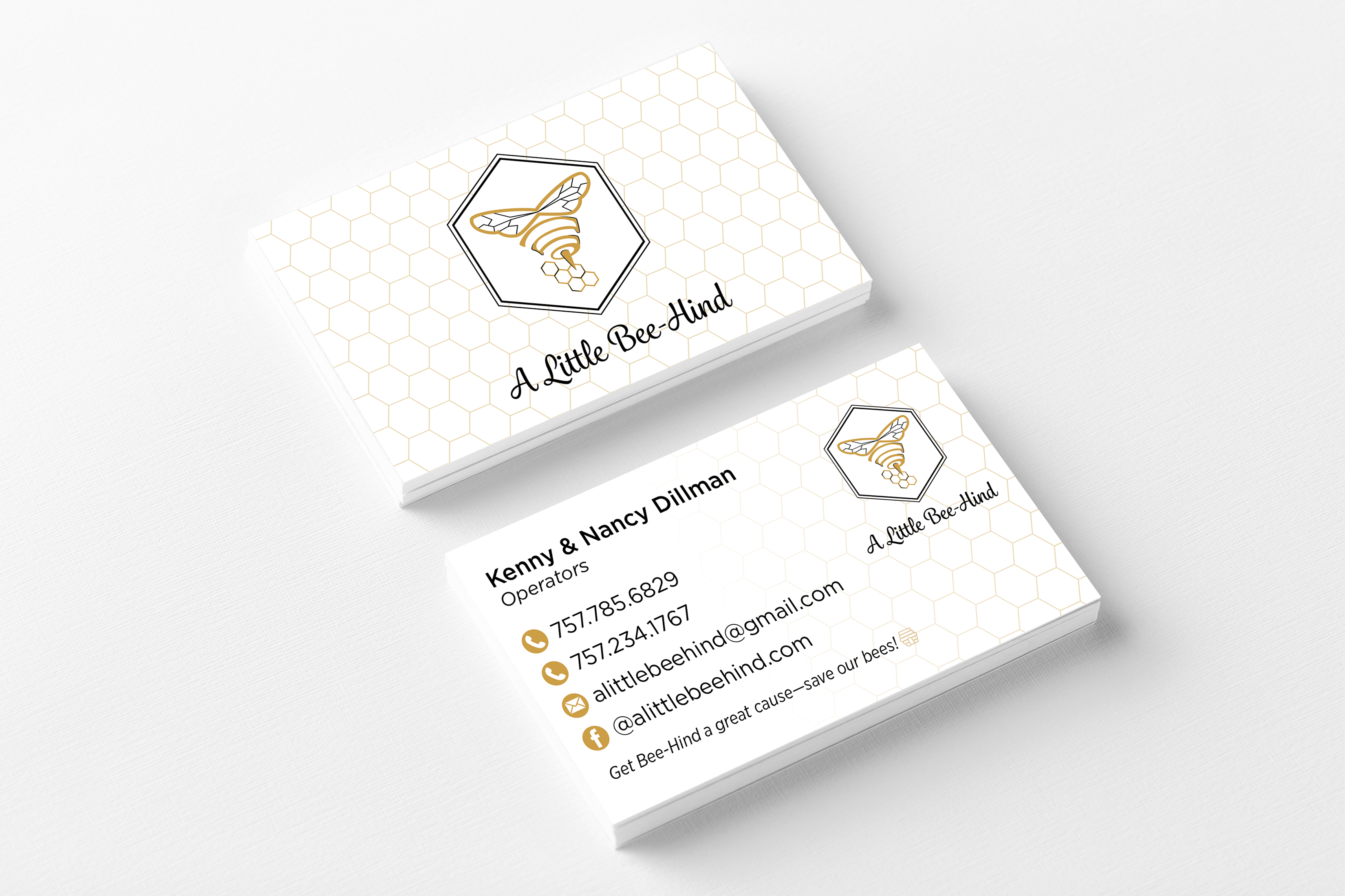 A Little Bee-Hind Business Cards