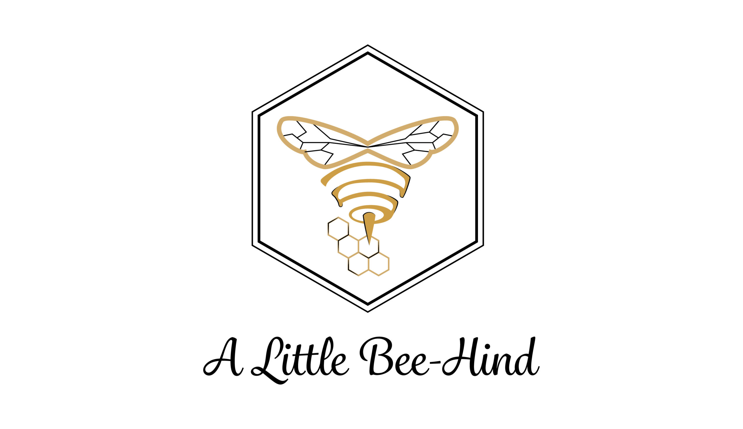 A Little Bee-Hind Apiary Logo